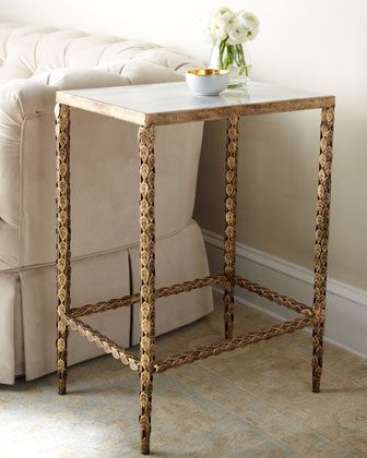 Amazing Marble Top Side Table