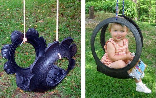 Outdoor Swing Ideas- DIY DIY SWING 4 – Living Impressive