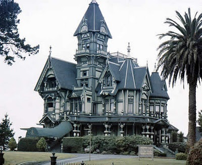The magnificent Carson Mansion on 2nd and M Streets, is perhaps the most spectacular Victorian in  Old Town, Eureka, California.  The home was built between 1884-1886.