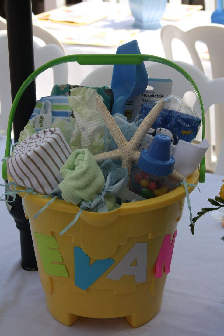 beach baby shower gift idea