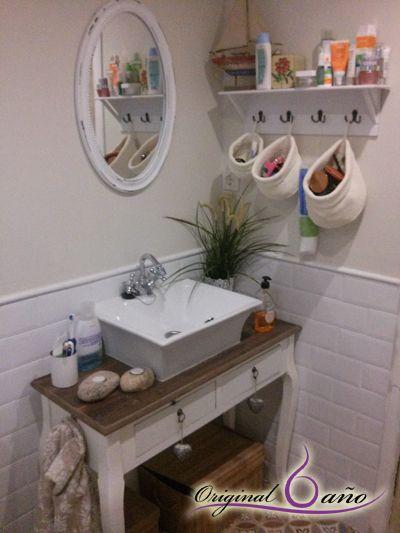 Accesorios de baño para Decorar baños Vintage. #Baños con Encanto
