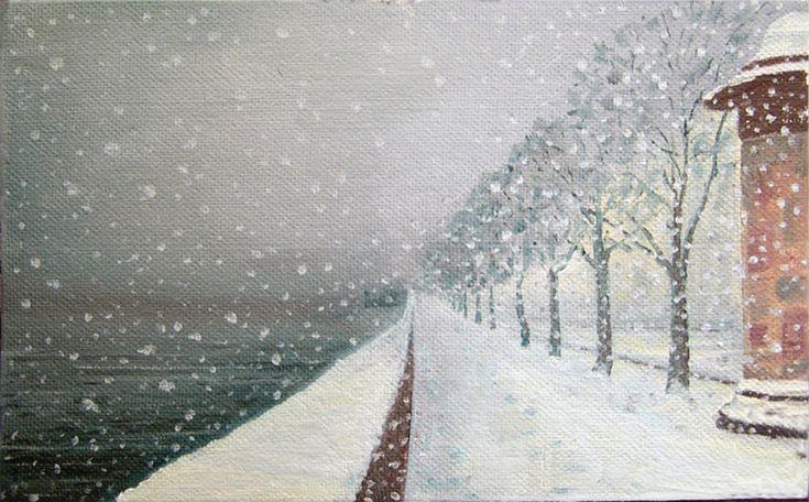 levkonoe | Борис Лялин. Снег