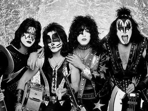 KISS is my favorite band...yes, it's true.  Surprising to some-but true!  KISS Army forever! ;-)