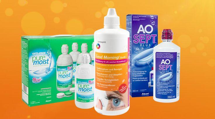 Die besten Pflegemittel für weiche Kontaktlinsen | Lensstyle