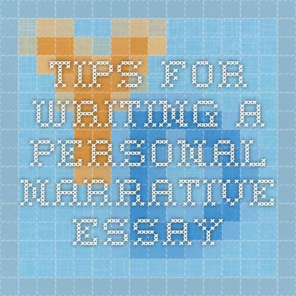 Personal Narrative Essay Rules