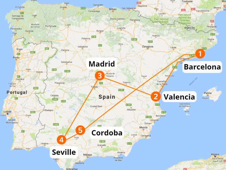Travel Spain by train. Barcelona, Valencia, Madrid, Seville & Granada. Popular European destinations all year round. The perfect choice for your vacation.