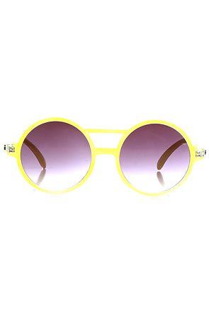 The Moda Sunglasses in Yellow by Quay Eyeware Australia  $19.95 SALE