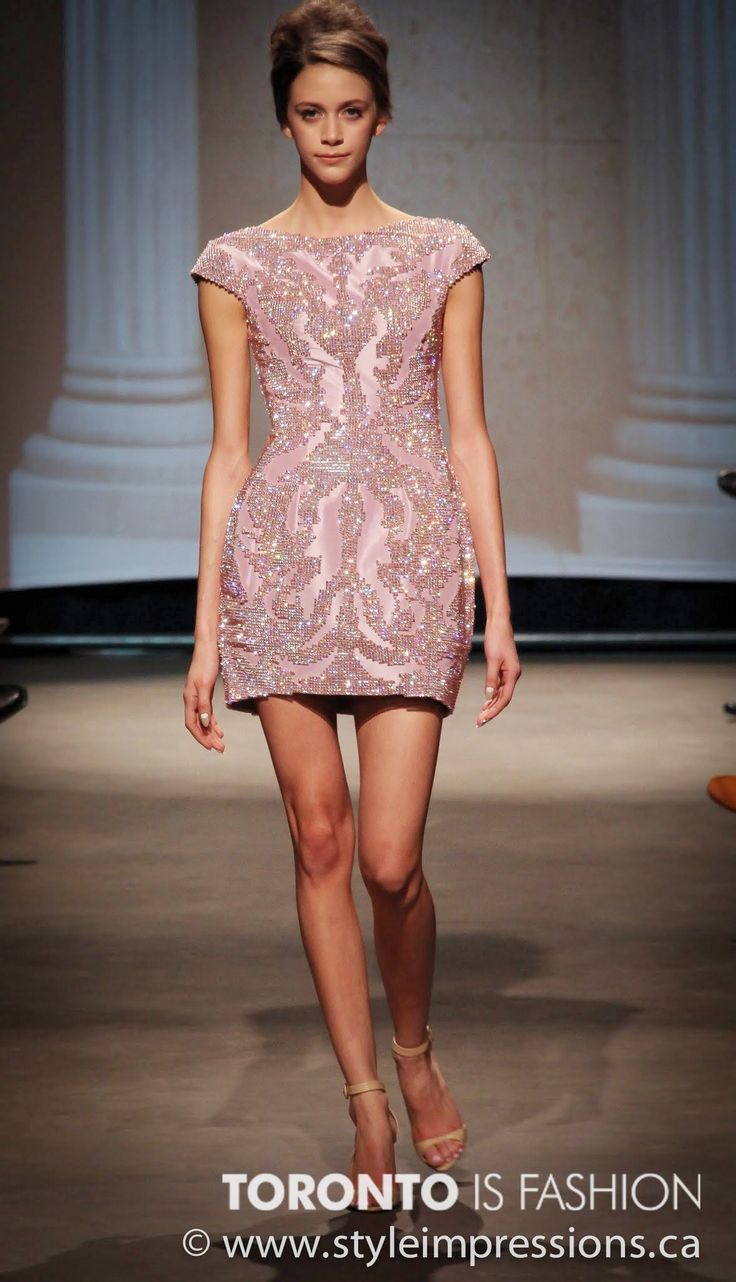 Hermosa Vestidos De Cóctel Toronto Friso - Colección del Vestido de ...