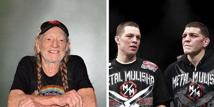 Willie Nelson Loves Nick And Nate Diaz's New Weed Strains