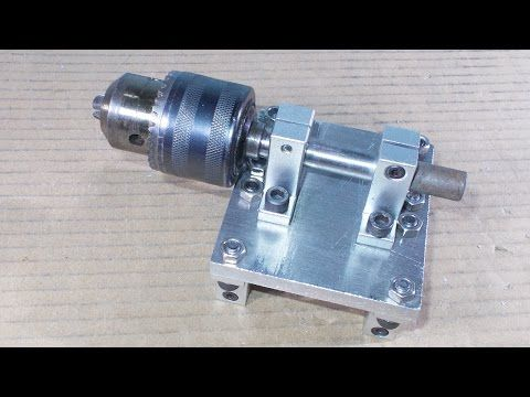 how to make lathe machine in home