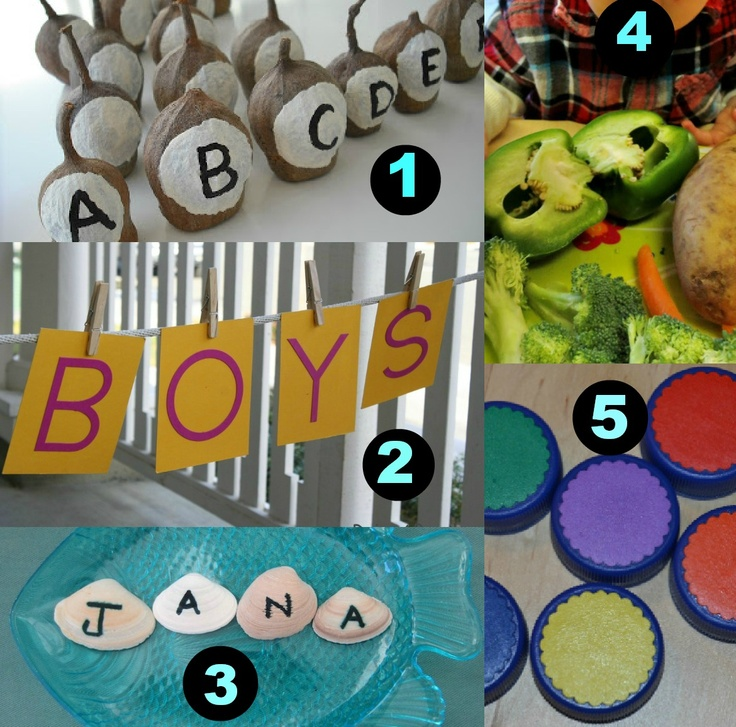 Learn with Play at home: 5 Fun Activities for Learning using Everyday Materials