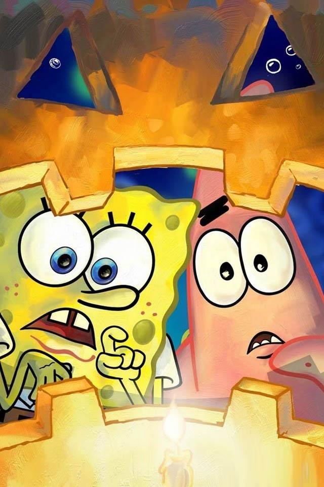 Cute Spongebob Wallpaper Hd Spongebob Wallpaper Spongebob Halloween Spongebob Drawings