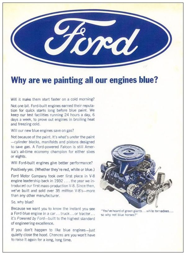 advertentie van Ford