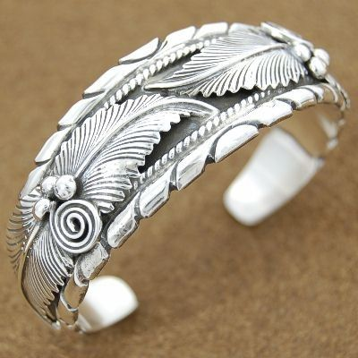 *Navajo sterling silver cuff