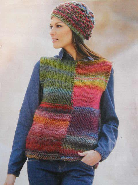 Fiche Tricot Pour Faire UN Pull ET UN Bonnet Pour Femme Création Laine Katia | eBay