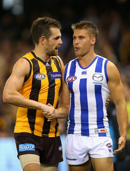 Andrew Swallow Photos - AFL Rd 5 - North Melbourne v Hawthorn http://footyboys.com
