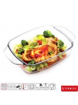 Buy Termisil Glass Classic Baking Roaster 1.4 Ltr-580001 online at happyroar.com