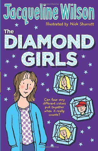 The Diamond Girls by Jacqueline Wilson, http://www.amazon.co.uk/dp/0552556122/ref=cm_sw_r_pi_dp_q6Spsb1KJFEJC