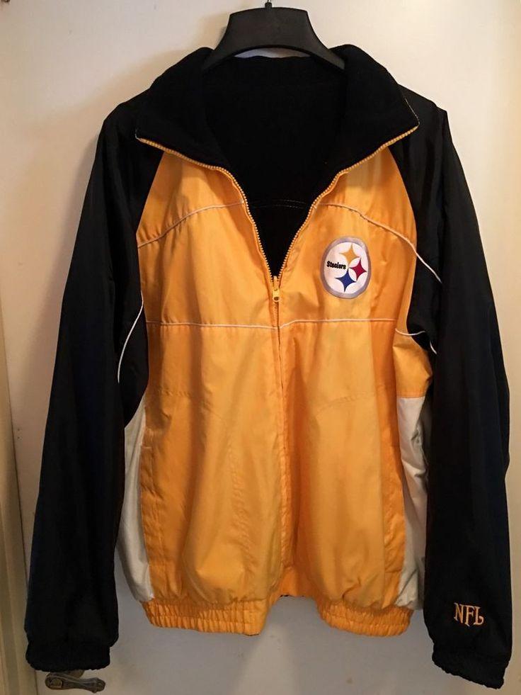 Men's NFL Steelers Jacket | eBay