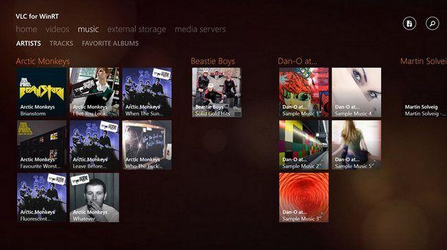 Lanzan la versión beta del popular reproductor de audio y Vídeo VLC para Windows 8