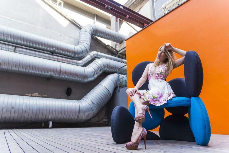 SoFlower Chair #scaranidesigner #ariannaespengrimoldi model