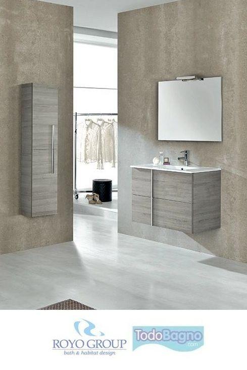 Conjunto mueble de ba o onix royo lavabo espejo 199 - Comprar mueble de bano online ...