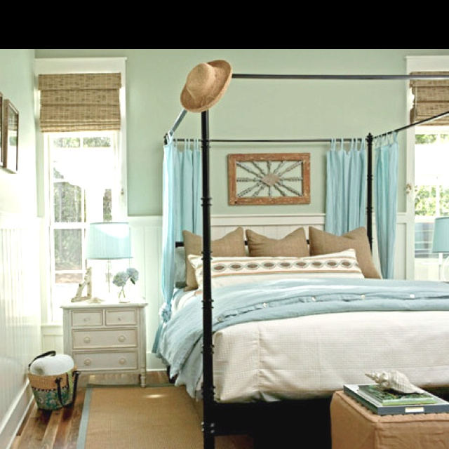Beach House Decor Ideas With Horizontal Blinds: 116 Best Blue Drapes & Decor Images On Pinterest