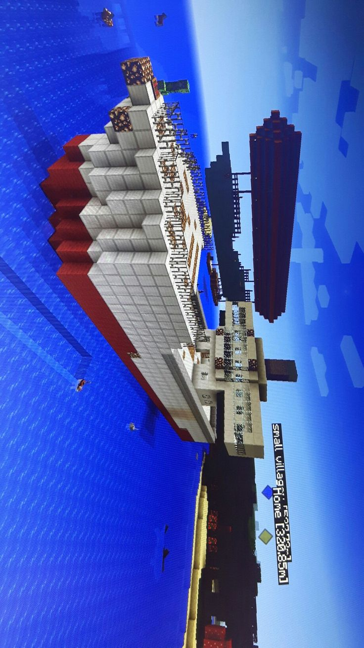 Npc village buildings by coltcoyote on deviantart apps directories - My Big Boat Wich Can Move In Water Made Of Iron And Wool