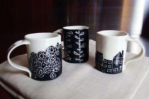 City cups / Tasses en porcelaine - Un Hibou dans la Tasse ©