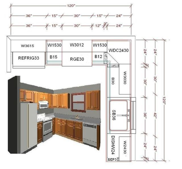 Nice L Shaped Kitchen Design Layout Ideas