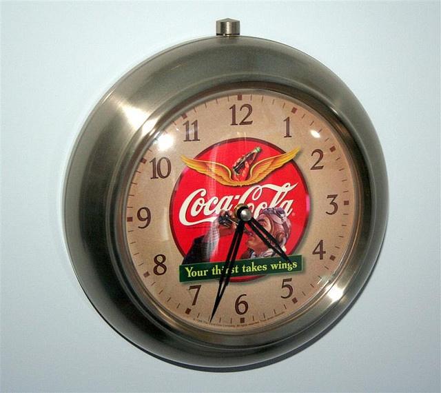 51 Best Coca Cola Clocks Images On Pinterest Vintage