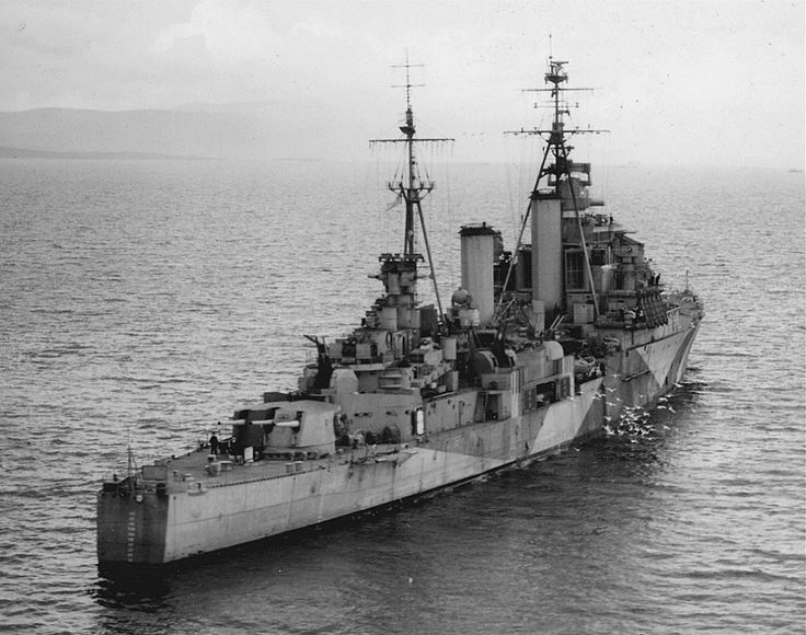 HMS Swiftsure (08) was a Minotaur-class light cruiser of the British Royal Navy.