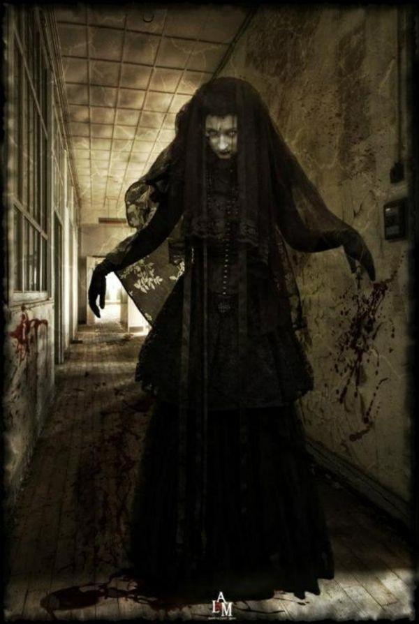 coole halloween kostüme schrecklich hexe horror