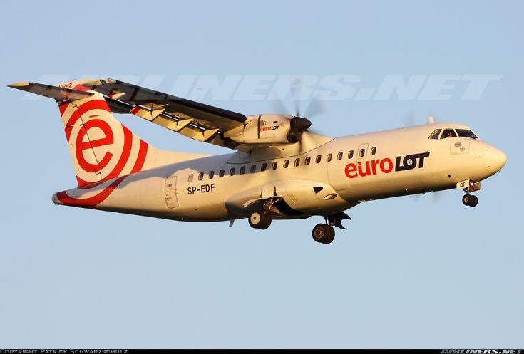 EuroLOT SP-EDF ATR ATR-42-500 aircraft picture