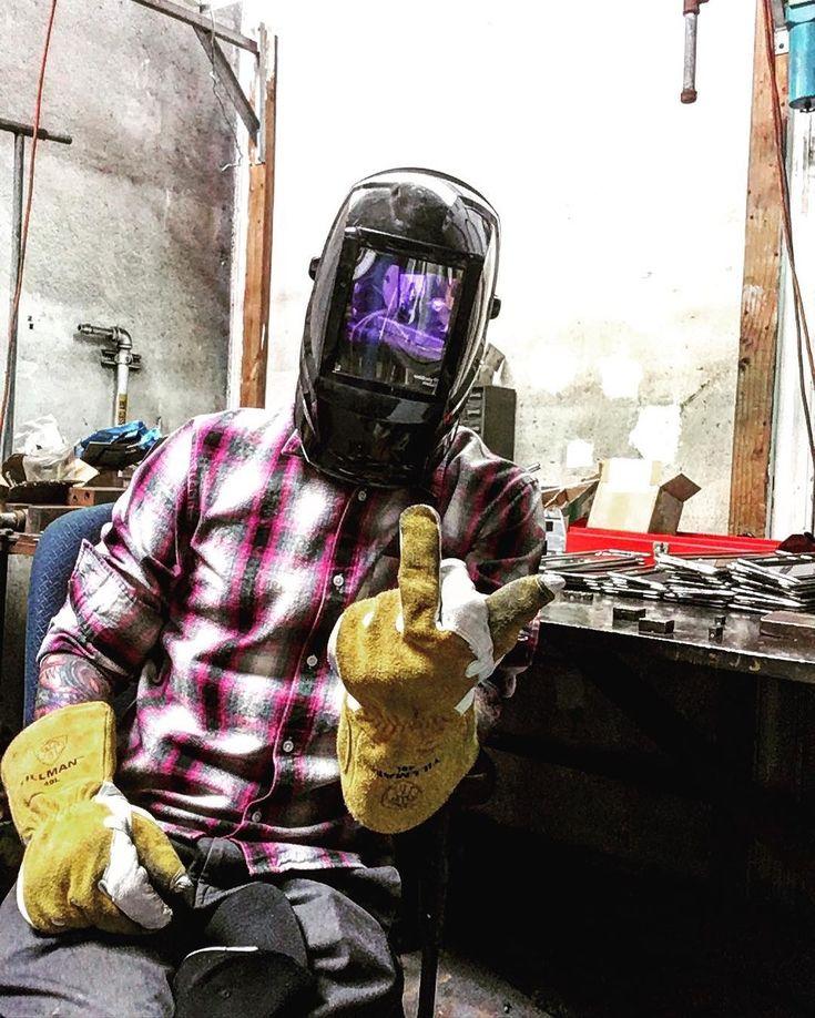 Do the dew #work #progress #metal #welding #tattoo #hustle #orangecounty #money #huntingtonbeach #california #tattoos #guyswithtattoos #ink #sweat #blood #tears #selfie