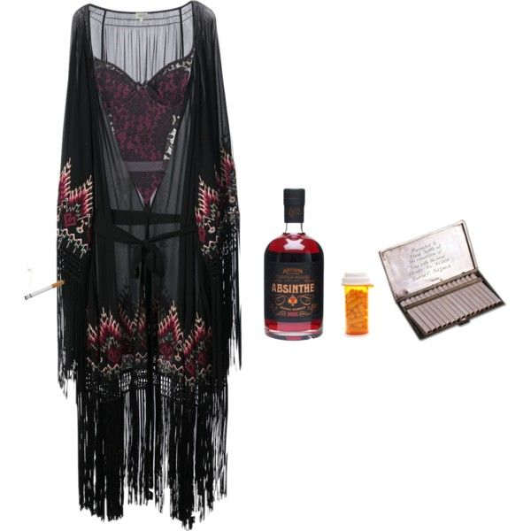 Bitte Tötet Mich by igjen-ogigjen on Polyvore featuring mode, Talitha, Agent Provocateur, Tiffany & Co., depression, cw, tw, drugs and alcohol