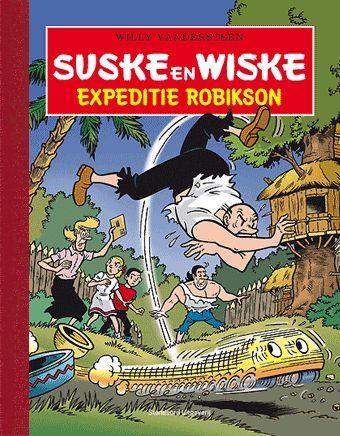 Suske en Wiske - Expeditie Robikson luxe - suskeenwiskeshop.com
