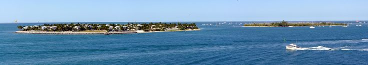 Sunset Key & Wisteria Island panorama