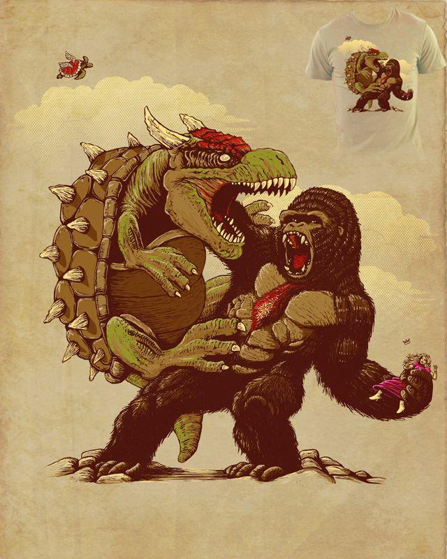 Donkey Kong. Curated by Suburban Fandom, NYC Tri-State Fan Events: http://yonkersfun.com/category/fandom/