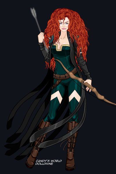 The Phoenix Archer Merida By Tothemoon Created Using The X
