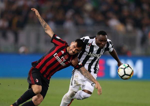 Official Inter Milan Sign Ghana Star Kwadwo Asamoah Cup Final Inter Milan Ac Milan