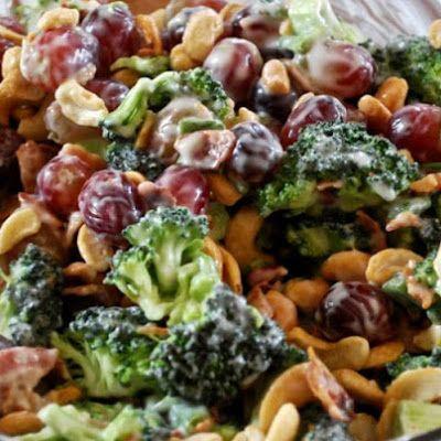 Broccoli Salad Recipe 5 SmartPoints | Weight Watchers Recipes
