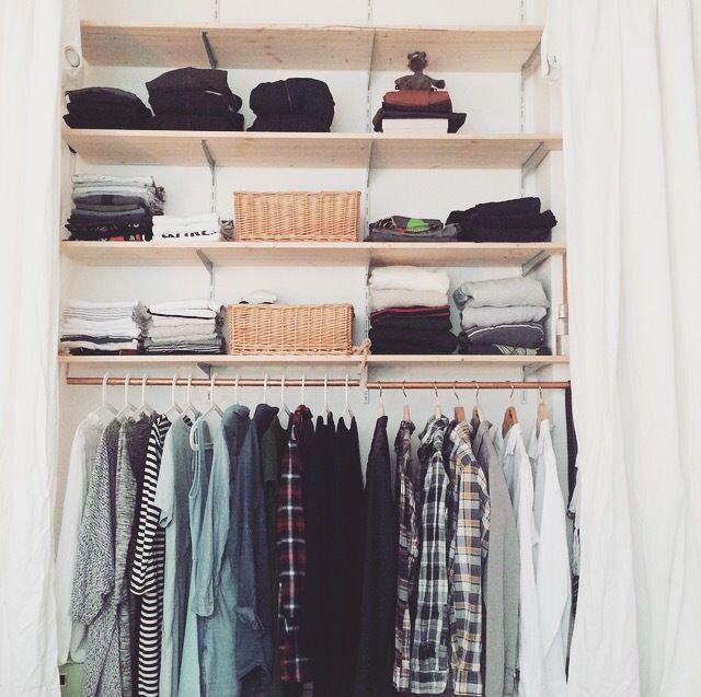 Schlafzimmer Makeover Teil 1: das Kleiderschrank-Projekt ...