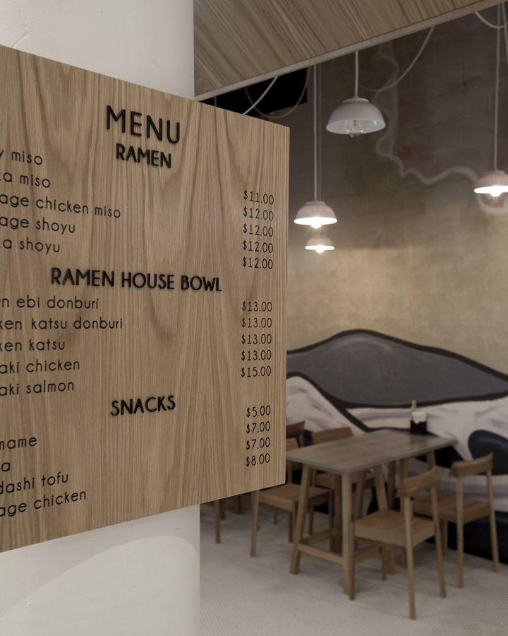 Ramen House restaurant by StudioMKZ, Sydney   Australia restaurant
