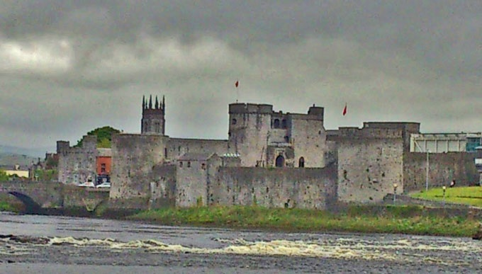 King Johns Castle in Limerick. Picture taken with Sony Experia, Android phone.