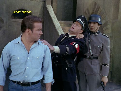 STARFLEET INTELLIGENCE FILE: Captain James Kirk, Commander Spock; Nazi Germany, Earth, Sol System; 1936