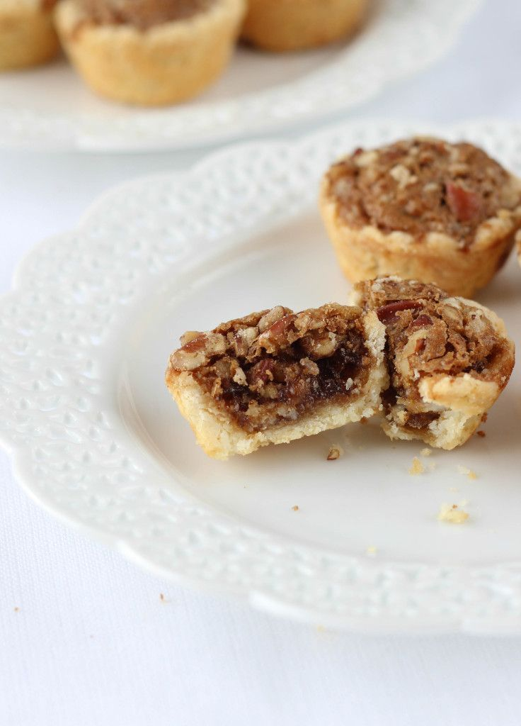 My Great-Grandmother Rosa's Pecan Tassies - Mini Pecan Pies in a sensational cream cheese crust. The perfect two-bite party snack!