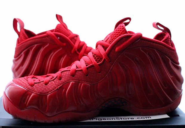 If you have been waiting on the all-red Nike Foamposite your wait is almost over, we have received an official release date.