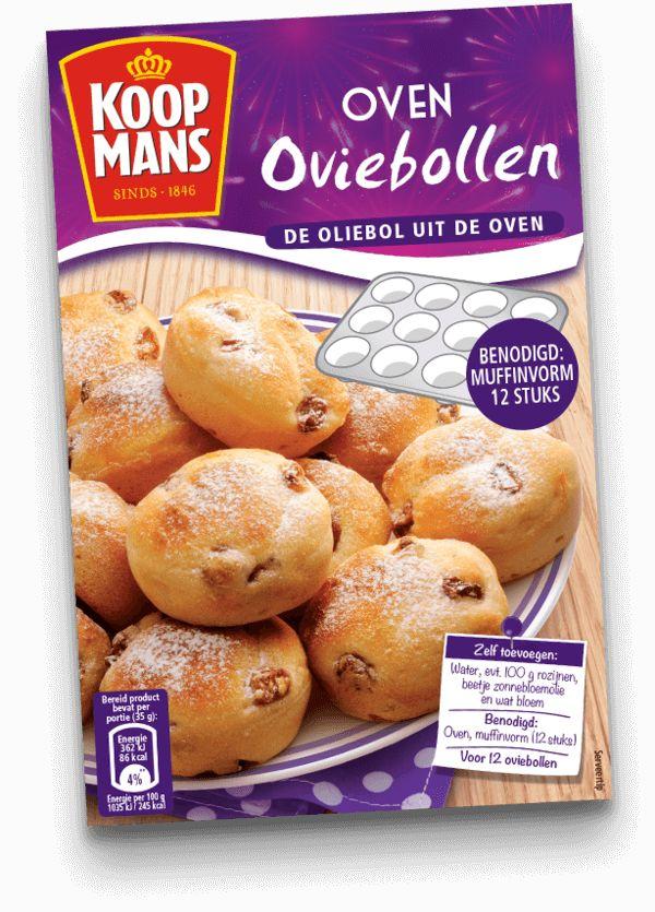 Geen frituurpan? Geen nood. Ook in de oven bak je heerlijke oliebollen. Kijk hier voor het recept.