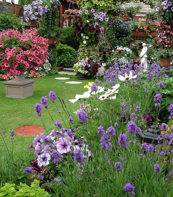 Perennial garden border: Gorgeous garden border